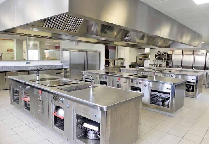 Une cuisine p dagogique ouverte et bien quip e grandes cuisines - Cuisine pedagogique ...