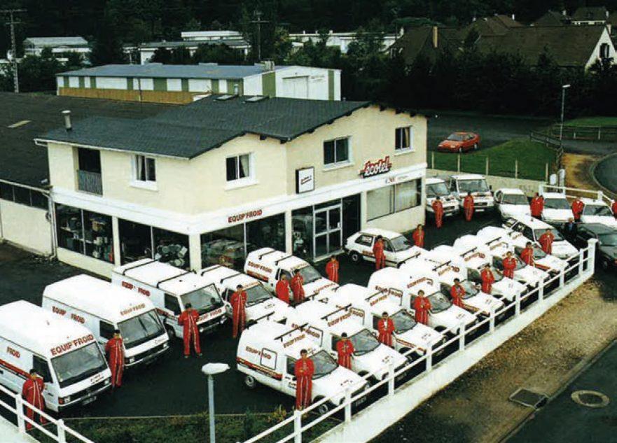 1998 - Les bureaux d'Equipfroid