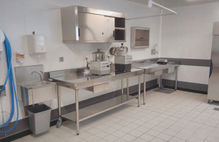 Luzenac - Plan préparation froide DR