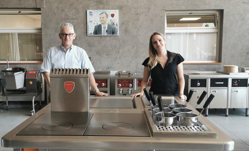 Pierre-André Troncy et Marlène Thomas (communication et marketing) Photos ©E. Gomez